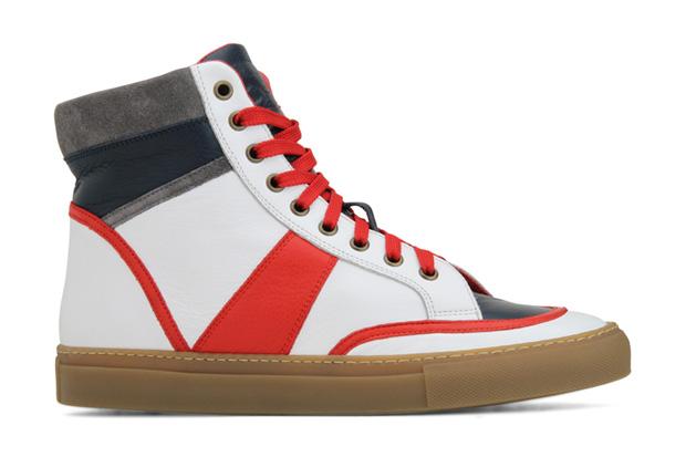 Trussardi 1911 High-Top Sneaker