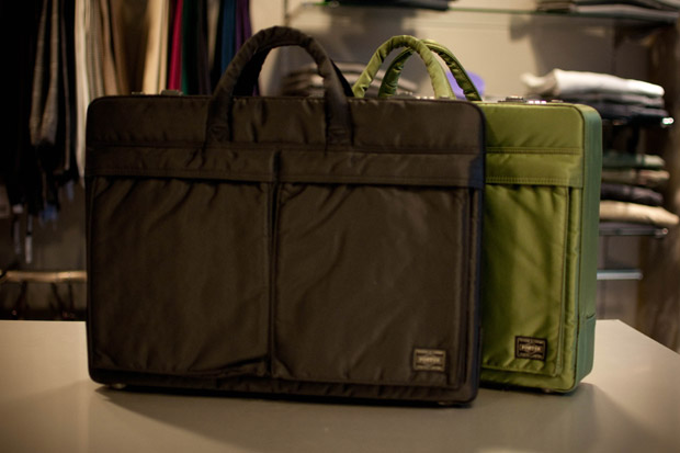 "United Arrows & Sons x B JIRUSHI YOSHIDA Porter ""Tanker"" Briefcase"