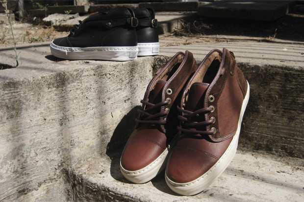 Vans Vault Leather Chukka Buckleback LX