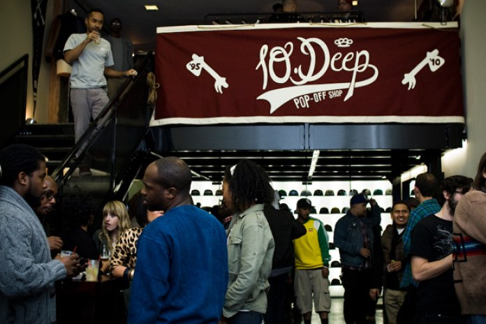 10.Deep Pop-Up Shop LA Opening Recap