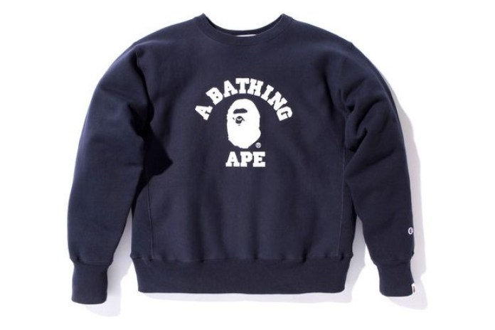 A Bathing Ape x Champion Sweatshirt