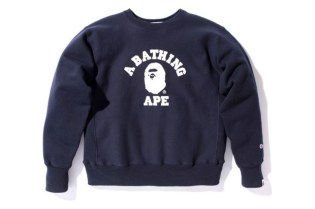 A Bathing Ape x Champion Sweatshirt