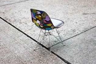 A BATHING APE x Case Study Fiberglass Chair - Kyoto Bape Gallery Exclusive