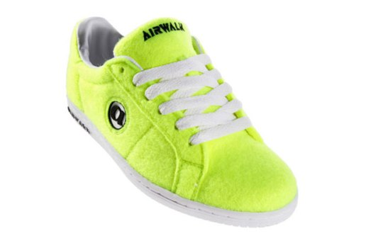 "Airwalk Jim ""Tennis Ball"" Sneakers"