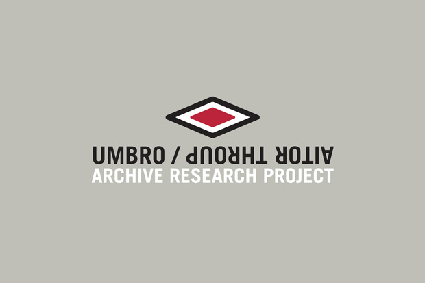 Aitor Throup x Umbro Archive Research Project