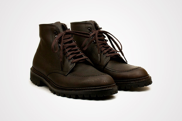 Alden High Moc Toe Kudu Boot