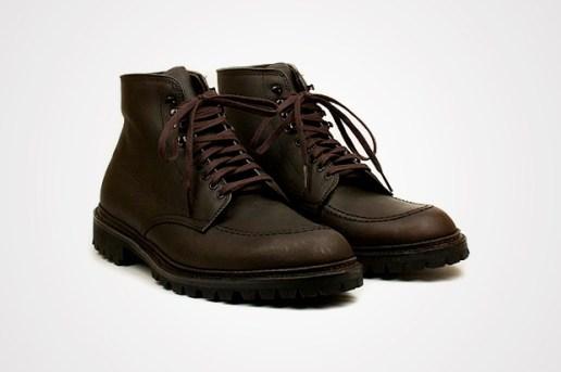 Alden High Moc Toe Kudu Boot