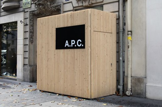 A.P.C. Paris Store Preview