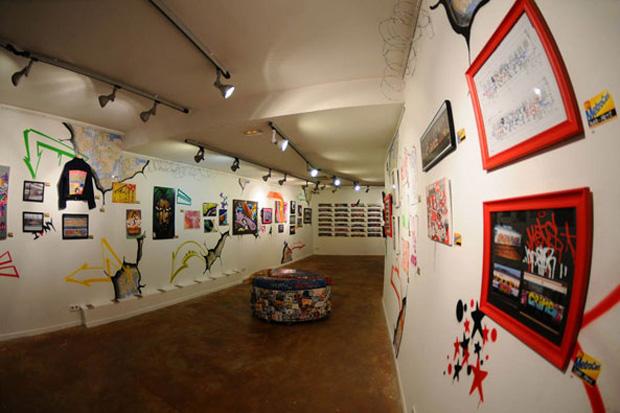 Art Transit at Montana Gallery Barcelona Recap