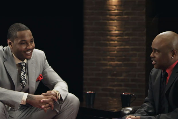 Carmelo Anthony on Ball Talk with Lewis Campbell