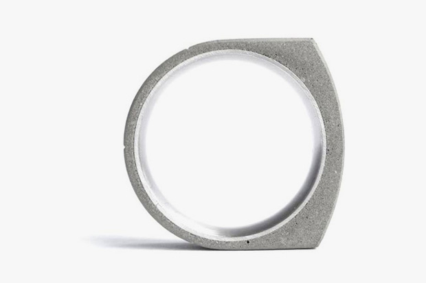 Beat Poet x 22designstudio Concrete Rings