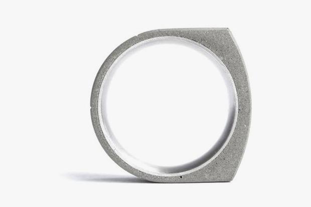 Beat Poet x 22designstudio Concrete Rings