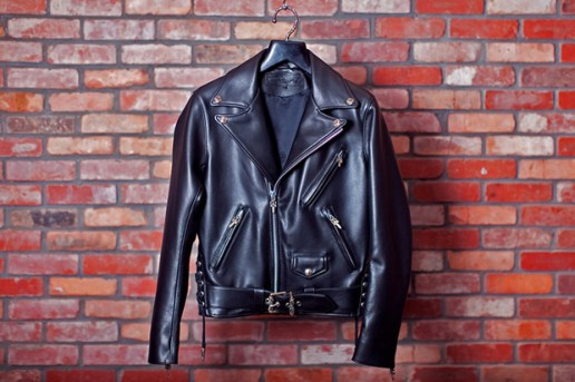 Chrome Hearts JJ DEAN Leather Biker Jacket