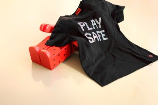 CLOT X Playboy Condoms Safe Guard T-Shirt