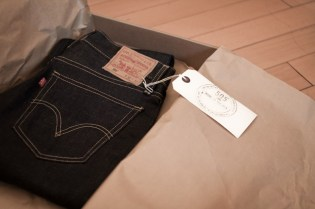 Cone Mills x Levi's 505 Limited Edition Jean