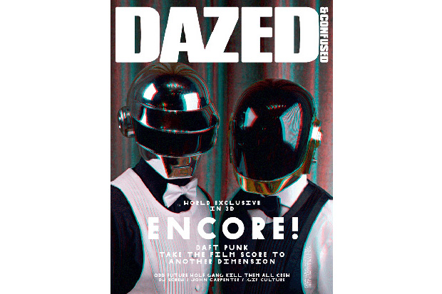 """Dazed & Confused """"ENCORE"""" Issue featuring Daft Punk"""