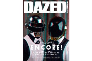 "Dazed & Confused ""ENCORE"" Issue featuring Daft Punk"