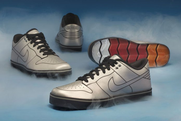 DMC x Nike 6.0 DeLorean Dunk
