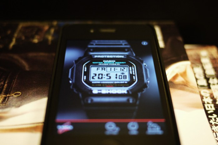 G-SHOCK iPhone App