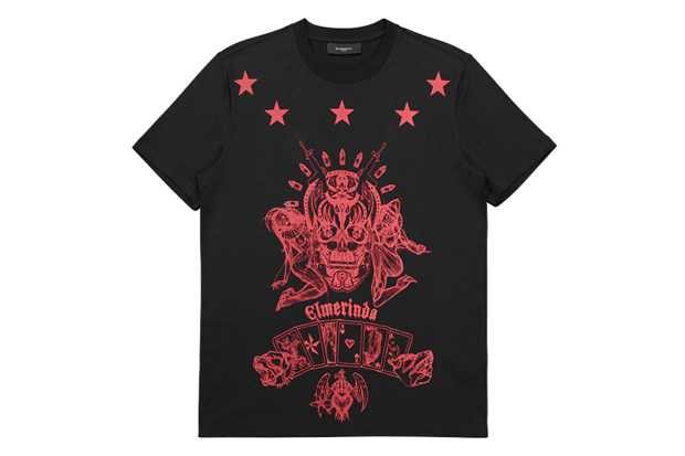givenchy by ricardo tisci 2010 christmas t shirts