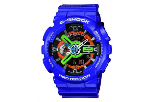 Evangelion x Casio G-SHOCK GA-110 Watch