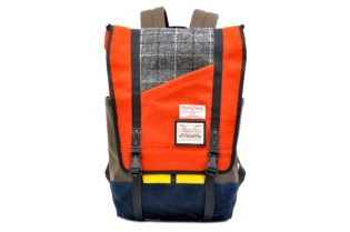 Harris Tweed x master-piece 2010 Fall/Winter Slash Backpack