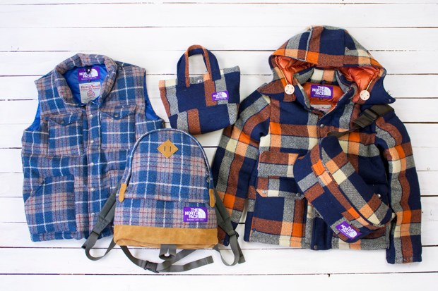 Harris Tweed x THE NORTH FACE PURPLE LABEL 2010 Fall/Winter Collection