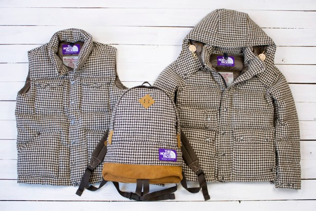 "Harris Tweed x THE NORTH FACE PURPLE LABEL ""Houndstooth"" Collection"