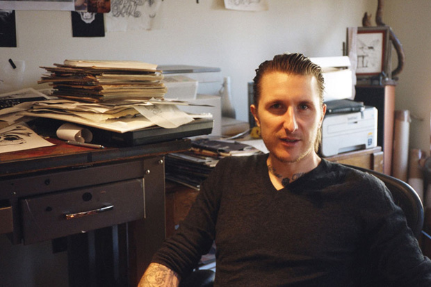 Interview Magazine: Why Scott Campbell Lit His Art on Fire