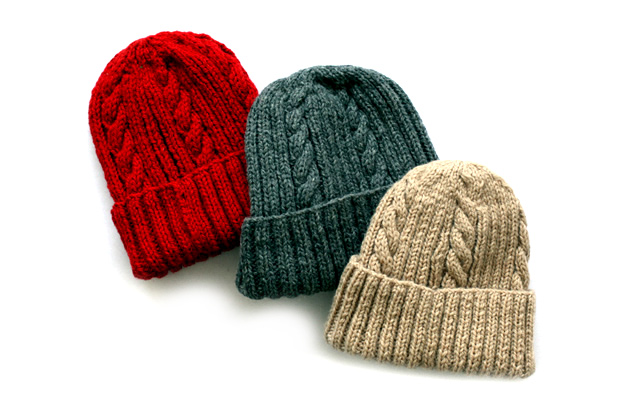 INVENTORY x INVERALLAN Cable Knit Caps