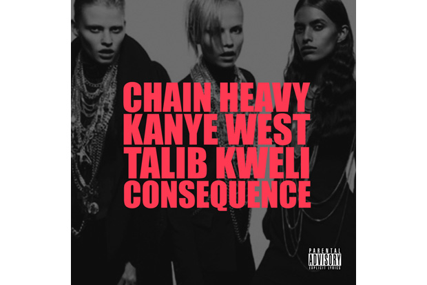 Kanye West featuring Consequence & Talib Kweli – Chain Heavy (Produced by Q-Tip)