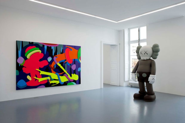 KAWS @ Emmanuel Perrotin Paris Preview