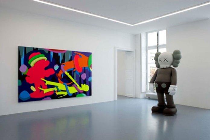 KAWS @ Emmanuel Perrotin Paris Preview