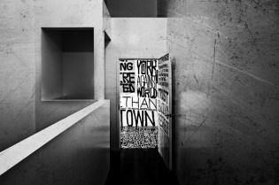 "Kunle Martins ""No More White Walls"" Installation at Nike Bowery Stadium"