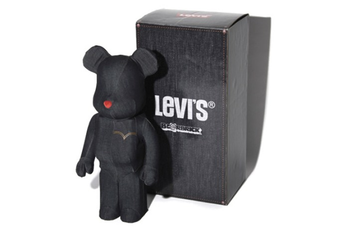 Levi's x MEDICOM TOY BEARBRICK 1000%