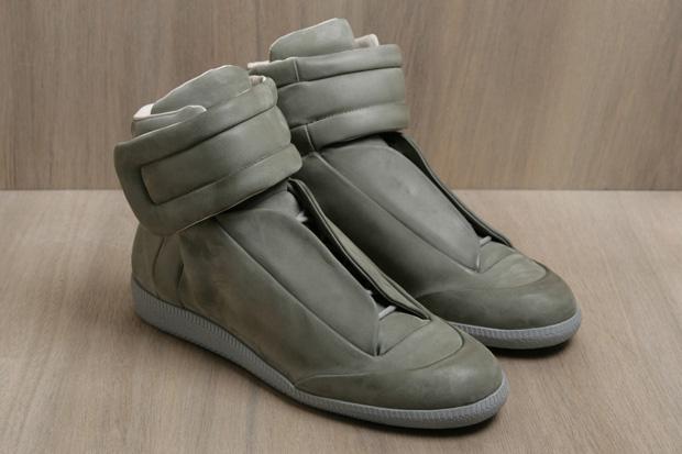 Maison Martin Margiela 2011 Spring/Summer Leather Hi-Top Sneakers