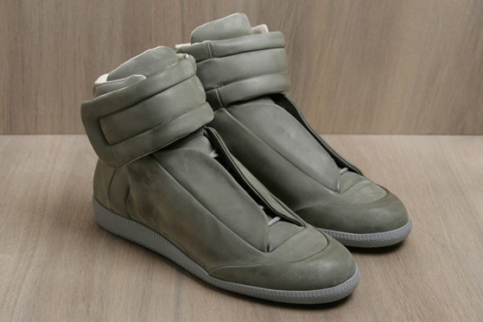 Maison Martin Margiela 2011 Spring/Summer Leather Hi-Top Sneakers