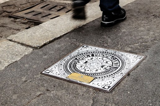 Manholes Project in Milan
