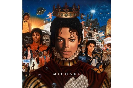 "Michael Jackson's ""Michael"" Artwork"