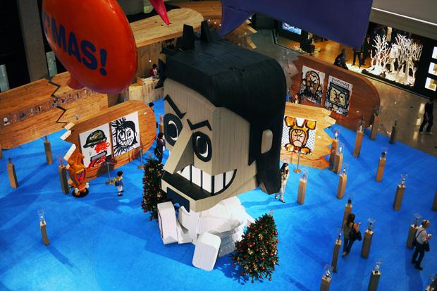 Michael Lau CRAZYX'MAS Exhibition Recap