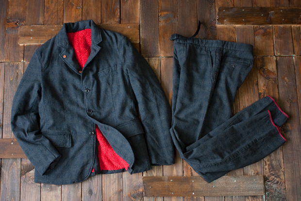 nanamica Field Jacket & Weaving Belt Pants