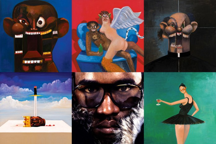 New York Magazine: George Condo Explains His Five Covers for Kanye West's Twisted Fantasy