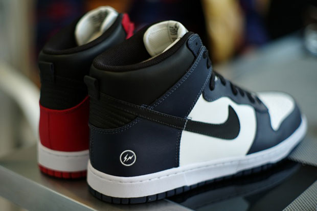 fragment design x Nike Dunk Hi Preview