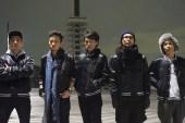 Nike Satin Destroyer Jacket featuring Running Club Roc Trax