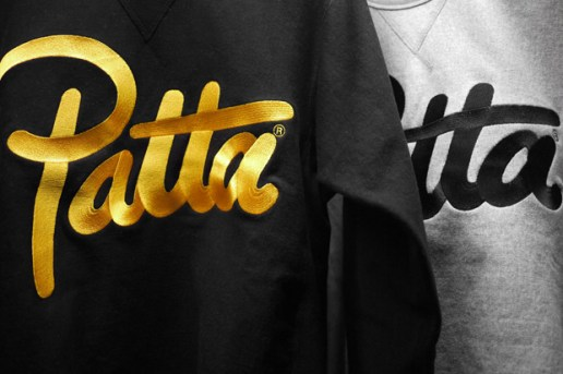 Patta Heavyweight Crewneck Sweatshirts