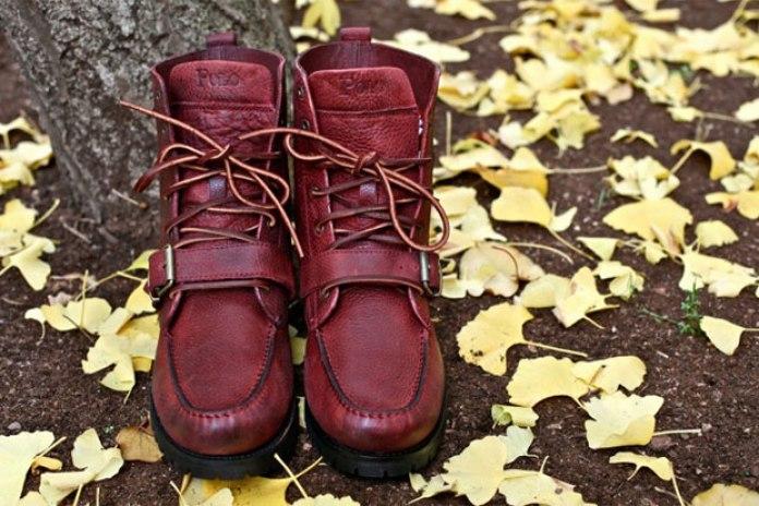 Polo Ralph Lauren Burnt Red Ranger Boots