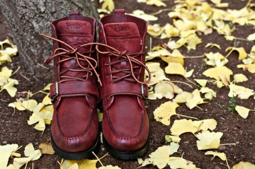 Polo Ralph Lauren Burnt Red Ranger Boots