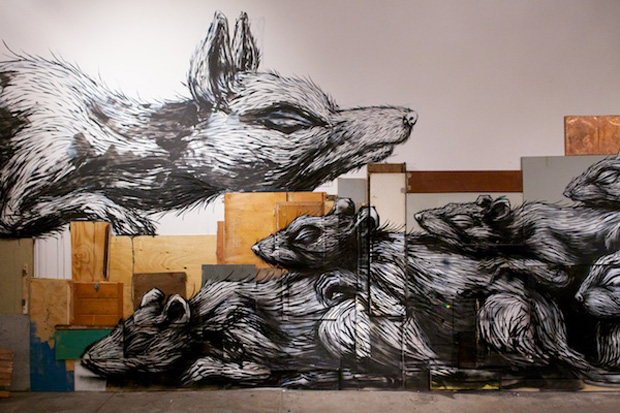 """ROA """"Special Event"""" @ New Puppy Gallery"""