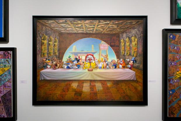 "Ron English ""Status Factory"" Exhibition"