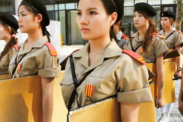 Suitman (Kim Young III) in Shanghai